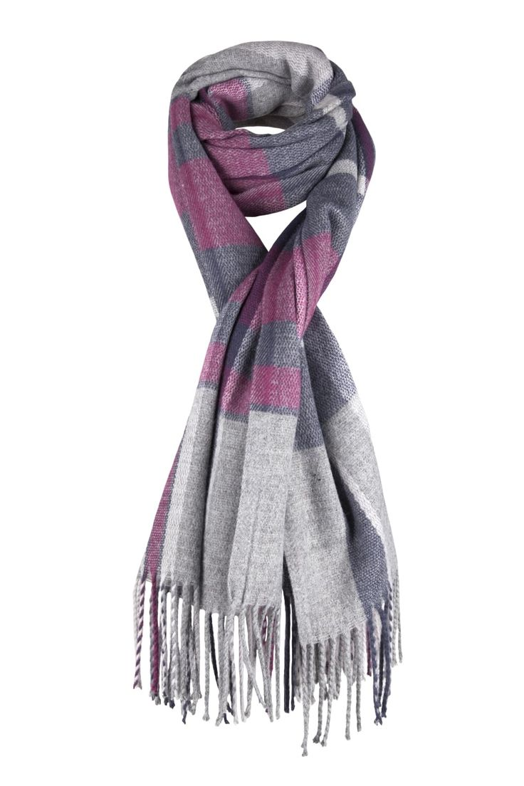 Check It Out Scarf  http://www.mistral-online.com/accessories-c10/scarves-c45/check-it-out-scarf-grey-blue-purple-p27821