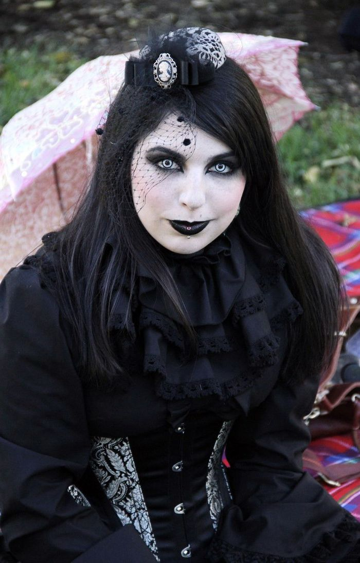 255 Best Images About Goth  Punk Girls On Pinterest -4309