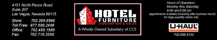 Hotel Furniture Liquidators Inc. Featuring Las Vegas Hotel Furniture From The Finest Hotels and Casinos