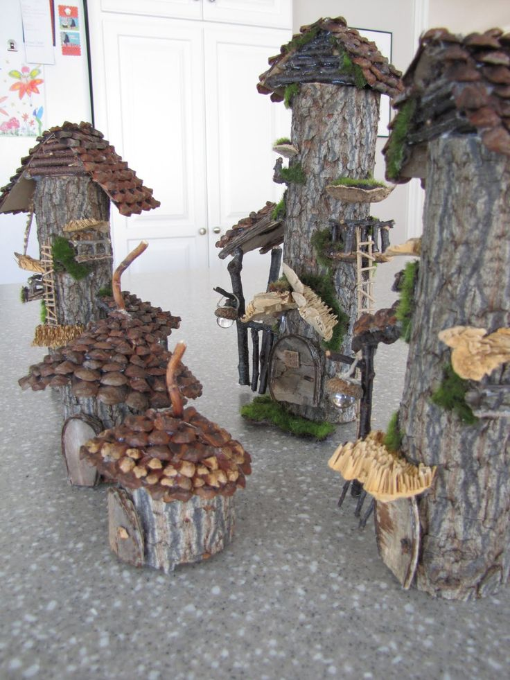 743 Best Images About Fairy Houses & Fairy Gardens On
