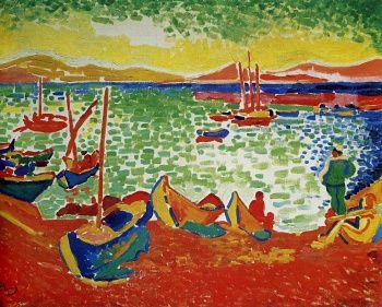 Дерен Андре «Лодки в порту Коллиура»,