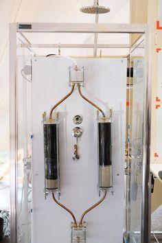 #Innovant: La douche infinie qui ne consomme que 10 litres d'eau: http://www.toutvert.fr/douche-infinie/