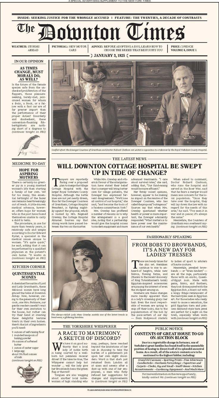 Downton Abbey, The Final Season tonight..
