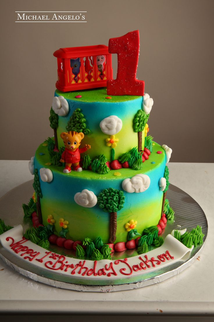 Birthday Cake Images For Daniel : The 25+ best ideas about Daniel Tiger Cake on Pinterest ...
