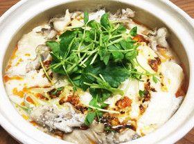 豚骨風餃子鍋(メモ)