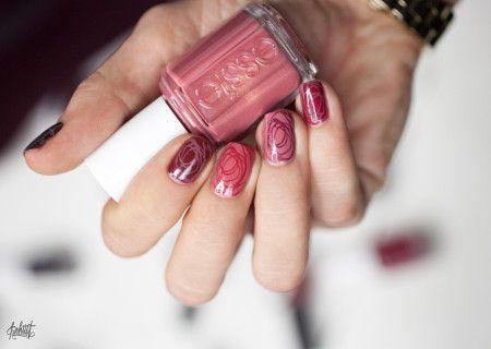 Marsala Nail designs 2015