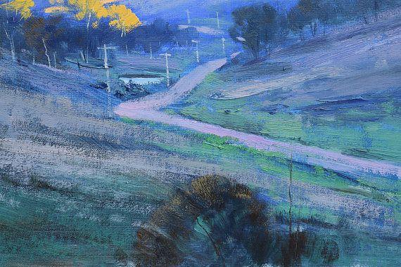 Paisaje pintura al óleo pintura australiana pintura pintura