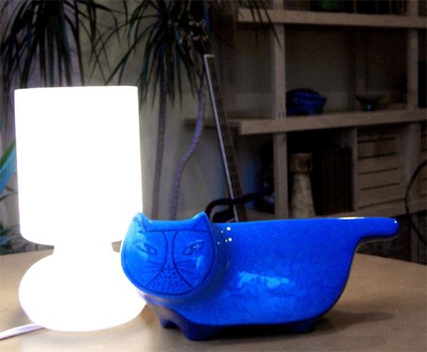 Blue Baldelli Cat Bank, via Flickr.