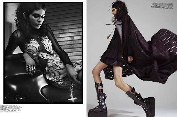 Vogue Turkey 'Siyah Kugu' 6