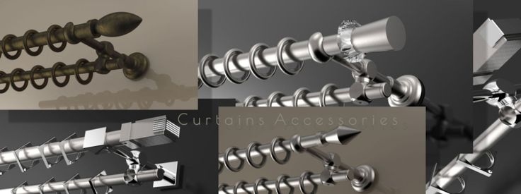 Curtain Accessories | Filpo Metal Design