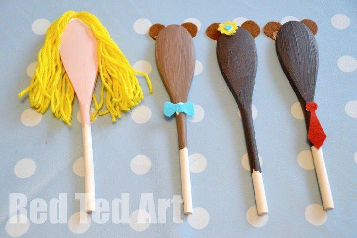 Golidlocks Craft Ideas for kids