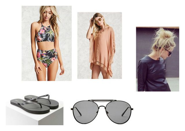 """Untitled #84"" by rosiepotter on Polyvore featuring Forever 21"