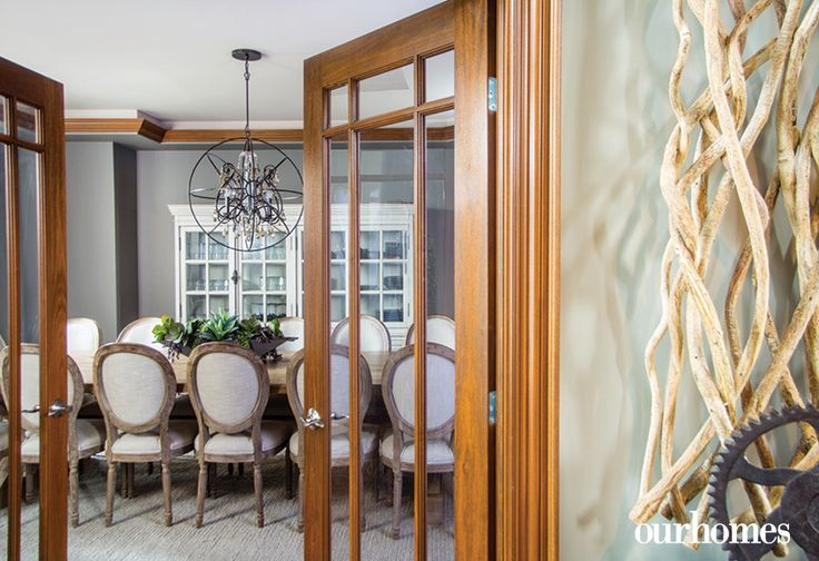The dining room is the scene of large family gatherings and special occasions.    http://www.ourhomes.ca/articles/build/article/a-place-where-family-comes-first