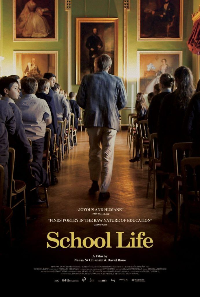 Magnolia Pictures is releasing a documentary that follows two teachers in Ireland as they combine a life of traditional education and modernism. Here's the official synopsis of School Life: This observational documentary follows a year in the lives of two inspirational teachers at Headfort, the only primary-age boarding school in Ireland. Housed in an 18th century estate, school life embraces tradition and modernity. For John, rock music is just another subject alongside Maths, Scripture and…