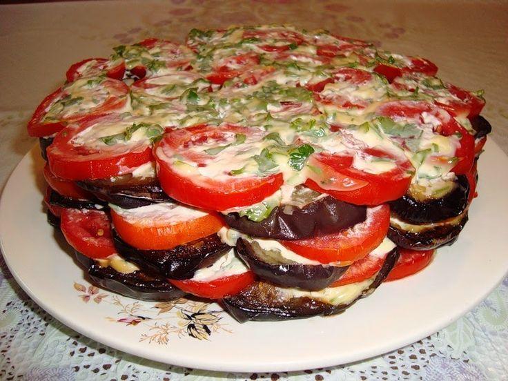 Самые вкусные рецепты: Закуска из баклажанов