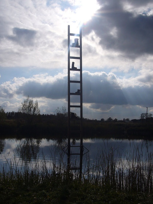 "Jozef Szajna : ""Ladder to Heaven"""