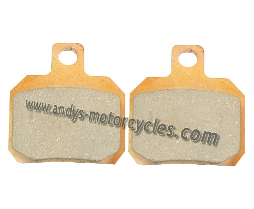 Details:    Kyoto FA266 brake pads to fit the front brake calliper of all Aprilia RS50 models, aged 2006 and onwards.    Each purchase is for 1 pair of brake pads (per Calliper).    Kyoto brake pads are an extremely high quality brake pad, offered by Andy's Motorcycles, at an extremely competitive price.    Kyoto brake pads have exceptional braking power, whilst constantly ensuring the minimum wear to brake discs.