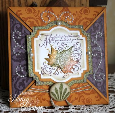 Creatively Artsy Card Gallery - this card is absolutely adorable.  Good job Nancy!Blog Hop, Cards Gallery, Creative Artsy, Ctmh Cards, Auguste Stamps, Breathtaking Cards, Month Blog, Ctmh Auguste, Artsy Cards