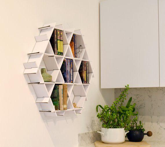 Small Bookshelf Wall Shelf Floating Shelves Hanging