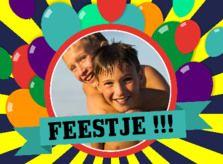Uitnodiging kinderfeestje - Goedkoop uitnodigingen maken met Kaartenhuis