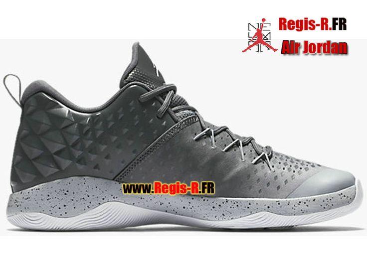 Jordan Extra.Fly - Chaussures Basket Jordan Pas Cher Pour Homme Gris foncé/Blanc 854551-003