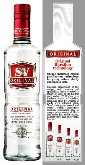 Soyuz-Viktan Vodka - Best Vodka brands from Ukraine - #SoyuzViktan #SoyuzViktanVodka #Vodka