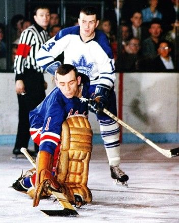 Ed Giacomin - Rangers, Dave Keon - Maple Leafs