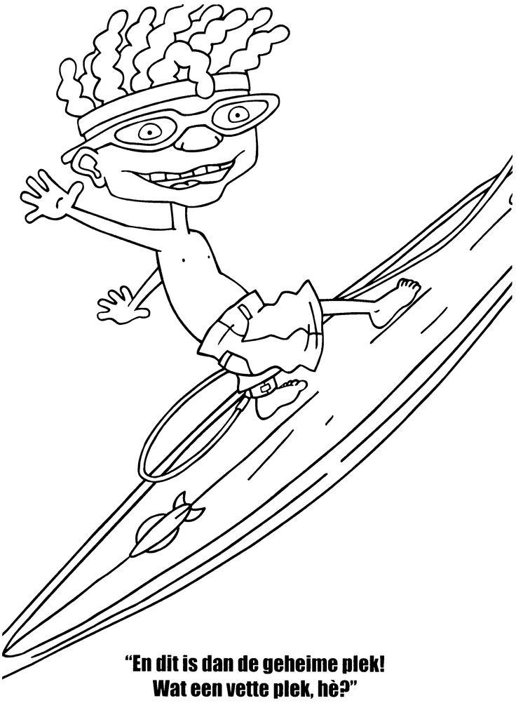 Desenhos para colorir para crian as desenhos para for Rocket power coloring pages