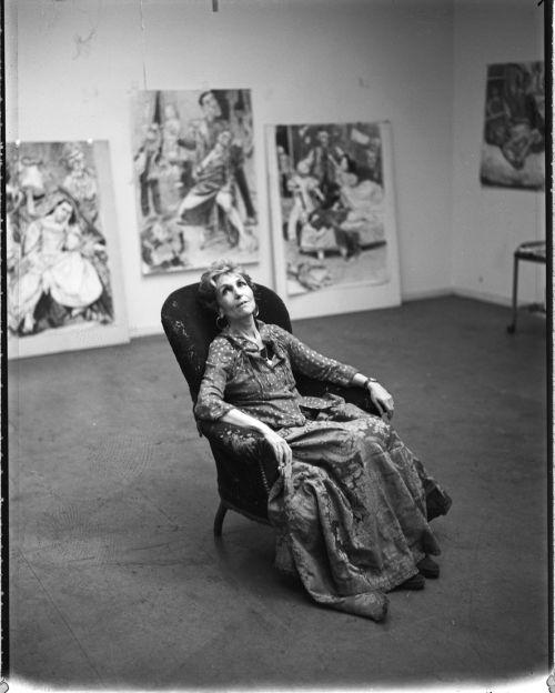 Paula Rego. Portuguese painter, naturalized British citizen.