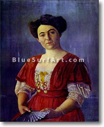 Portrait of Mme Georges Haasen - £124.99 : Canvas Art, Oil Painting Reproduction, Art Commission, Pop Art, Canvas Painting
