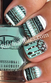 Omg love these! Tribal nails