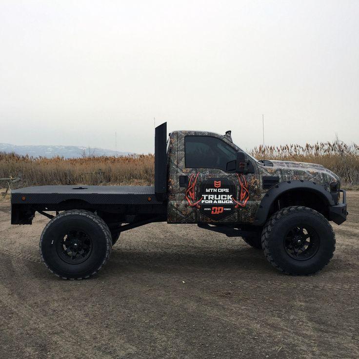 Mtn Ops Buck Truck Trucks Pinterest Plateforme Et Chasse