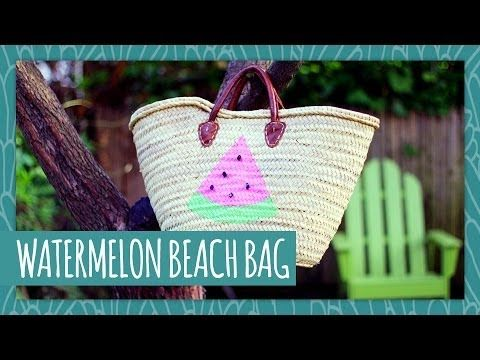 Watermelon Beach Bag- HGTV Handmade