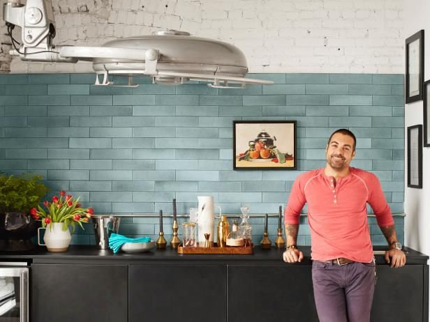 Get to know Anthony Carrino, co-host of HGTV's Kitchen Cousins.