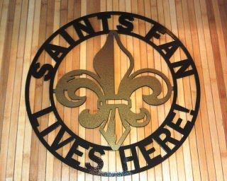 Saints fan lives here