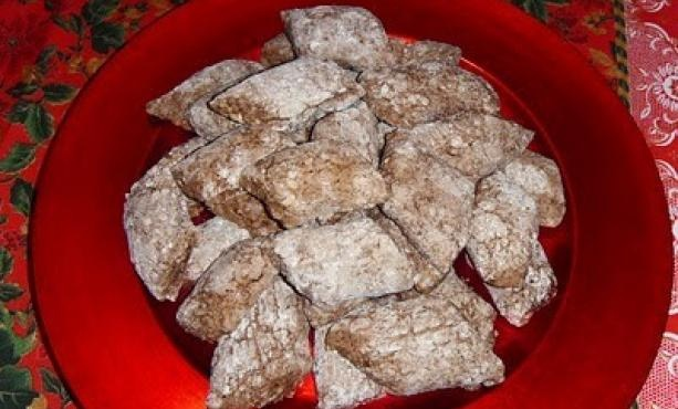 Castagnelle #almond #cocoa #dessert #dolci #Christmas #xmas #Natale #Bari #Apulia #Puglia #Italy #Italia