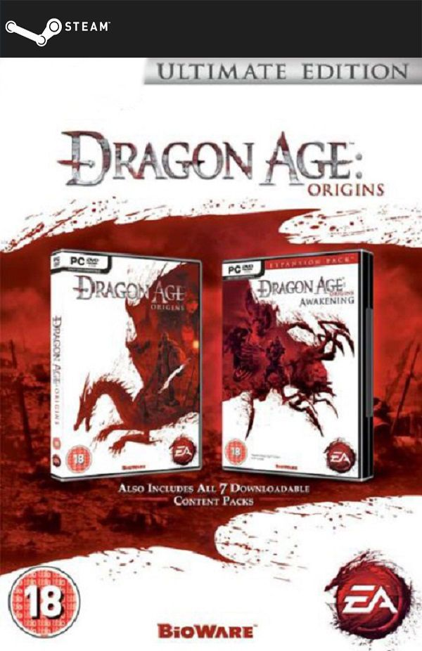 Dragon Age: Origins - Ultimate Edition (STEAM GIFT) DIGITAL 7,47€