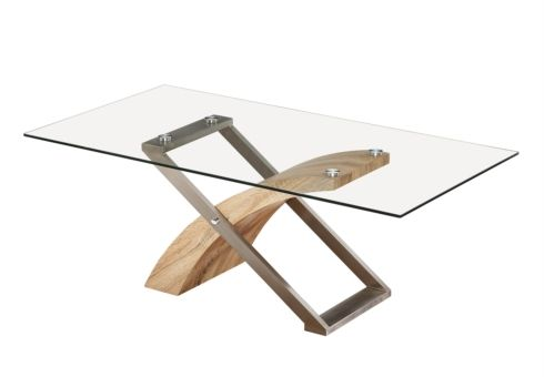 contemporary oak & glass coffee tables | furniture village