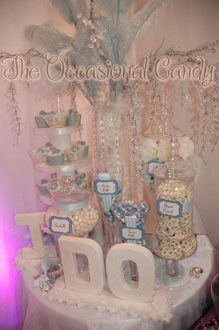 "candy buffet.. i would add ""don't mind if.."" where it says ""the occasional candy"" and keep the ""i do"" at the bottom"