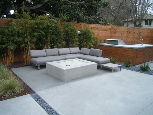 cement patio
