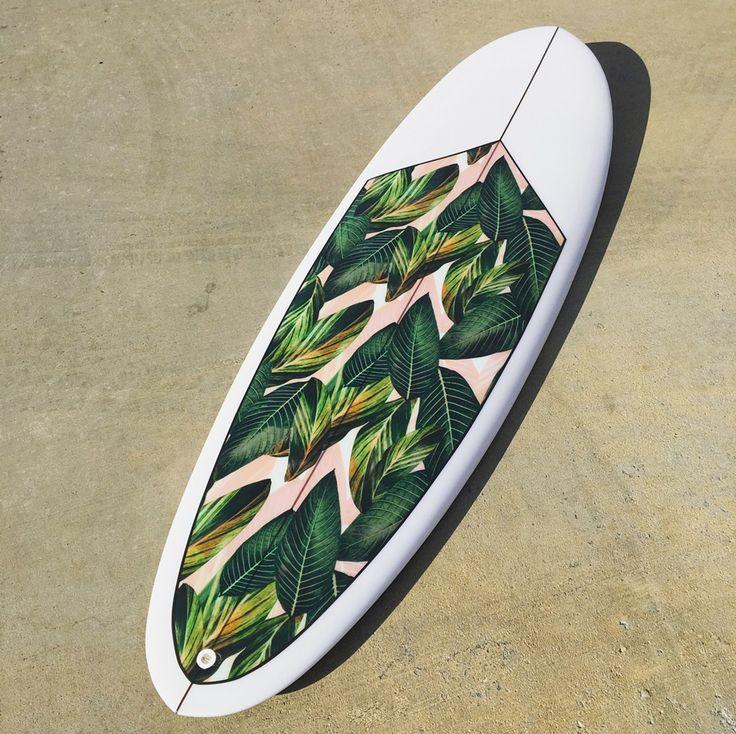 surfboard palm print / pierson shapes