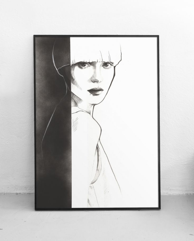 Plakat Kobieta IV, 50x70 cm, Pako Studio