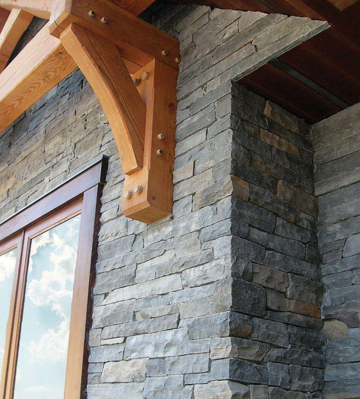 Home Exterior: Cambrian LEDGESTONE - Pangaea® Brand_Natural Stone Veneer