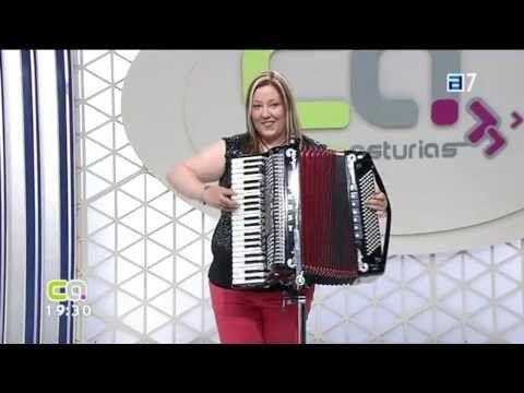 Entrevista Conexión Asturias TPA-09-08-2013-Jessy y su Acordeón-Acordeonista y Vocalista de Asturias - YouTube