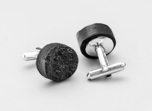 spinki okrągłe regularne regular rounded cufflinks
