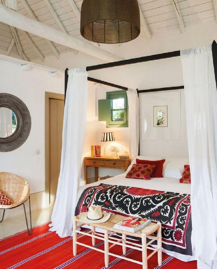 casa Andaluzia, casa de vacanta rustica si colorata, design interior