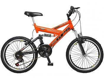 Bicicleta Colli Bike GPS Aro 20 21 Marchas - Freio V-Brake