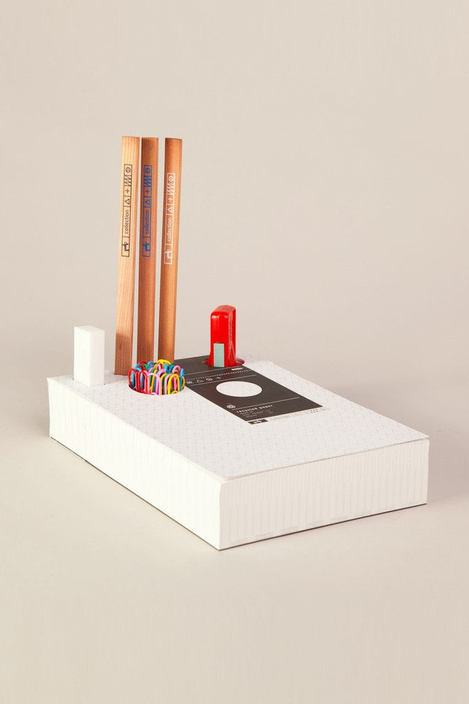 Memo Pad & Organizer - Carpenter pencils