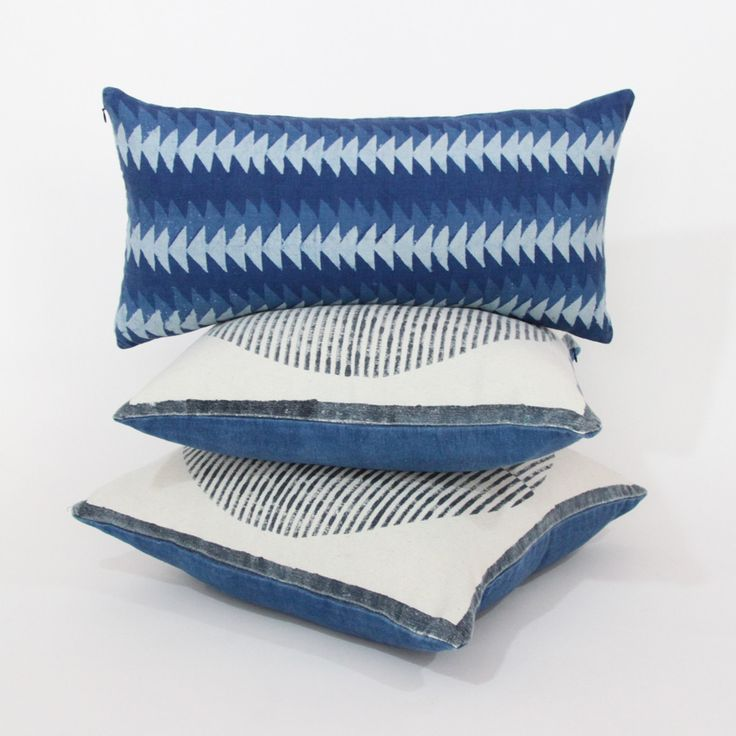 Pillows by Block Shop Textiles