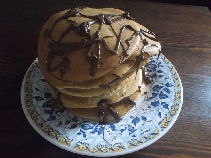PANCAKES  CLICCA QUI PER LA RICETTA http://www.loscrignodelbuongusto.com/altre-ricette/ricette-estero/199-pancakes.html